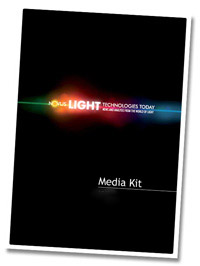 Novus Light Technologies Advertising Media Kit
