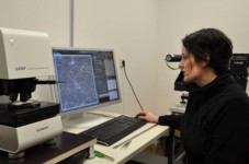 Dr Manuela Schiek at the University of Oldenburg, Germany has discovered how the quick and non-destructive nature of the Olympus LEXT OLS4100