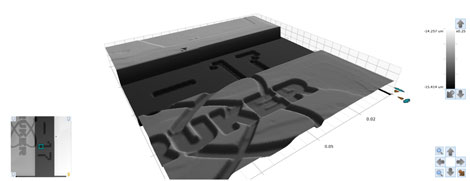 3D optical microscopes provide detailed surface topography data