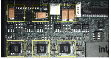 Example of solder