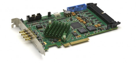 High-end quad frame grabbers enable a system integrator to interface up to four cameras to a single PCI Express slot running at 6.25Gbit/sec, or a single camera at 25Gbit/sec.