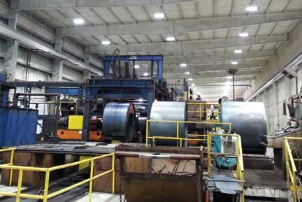 Kenwal Steel saving on energy, fixture count and maintenance