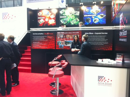 Active Silicon Stand at Vision 2012. Image courtesy of Andreas Breyer