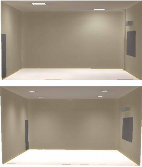 To study the two types of TDDs from different manufacturers, Solatube and Sun-Dome, the researchers installed two identical rooms.
