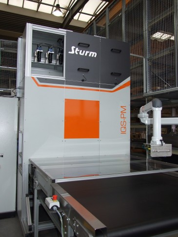 Sheet Metal Parts Metrology with a Vision-Based Line Scan System