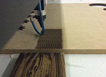 Creating Organic Wood Textures With a Laser Machine