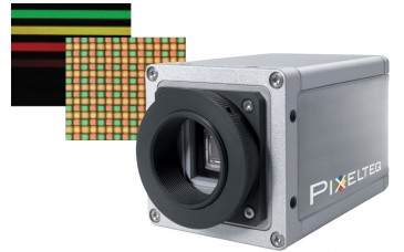 Researchers at PARC have developed a new class of hyperspectral imaging system that employs a liquid crystal layer sandwiched between crossed polarizers