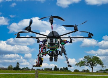 Drone-based Imaging Studies the Biomass of Grasses in Cattle Pastures