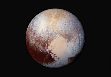 Spectral Imager Maps Composition of Pluto