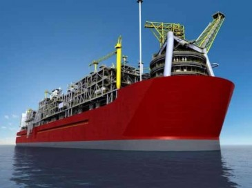 Surveillance Solution for Huge Floating Natural Gas Platform