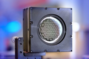 Piezoelectric deformable mirror PDM developed in the EU project ultraSURFACE