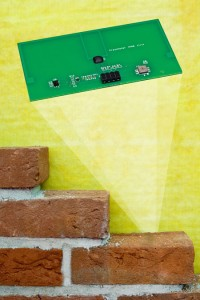 Fraunhofers RFID-Transponders with integrated moisture sensors