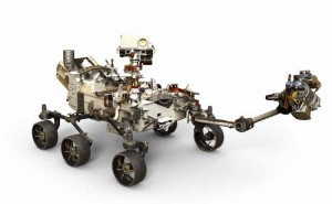 rtists depiction of the 2020 Mars Rover with arm extended By NASAJPL-Caltech