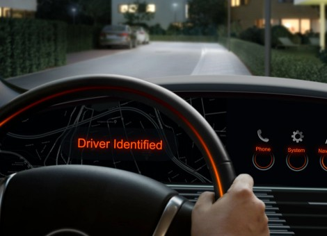driving with facial recognition