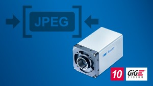 he high-speed LXT cameras with integrated JPEG image compression save bandwidth, CPU load, and storage capacity for a simpler and more cost-effective system design