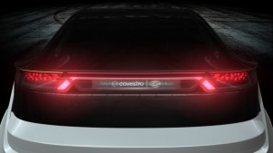 Holographic rear lights
