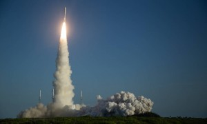 A United Launch Alliance Atlas V rocket with NASAs Mars 2020 Perseverance rover onboard launches from Space Launch Complex 41, Thursday, July 30, 2020, at Cape Canaveral Air Force Station in Florida The Perseverance rover is part of NASAs Mars Exploration