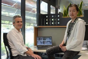 L-R Dr Nick Barnes and Dr Shaodi You Credit CSIRO