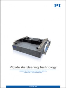 Laser World of Photonics PIs new brochure on air bearing technology