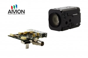 Optical Single Link Video Transmission for HD Block Cameras