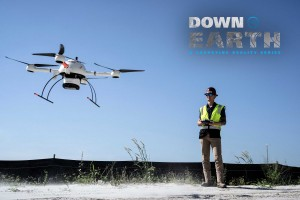 The mdLiDAR1000 aaS taking off for a construction project in Fort Myers, Florida