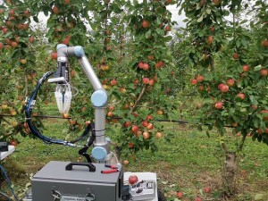 Monash University engineers have developed a robot capable of performing autonomous apple harvesting