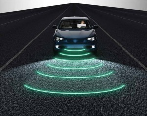 Autonomous Vehicle with LIDAR sensor