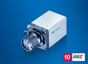 The 10 GigE cameras with liquid lens support offer maximum flexibility in applications with varying working distances