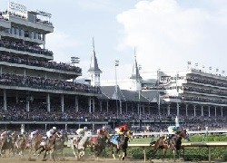 Churchill Downs Racetrack in Kentucky