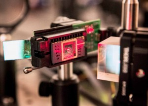 Microelectromechanical device with micro mirror mounted in system to direct infrared laser light to the receiver Patrick Mansell, PSU