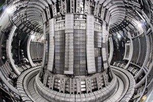 Interior of JETs vacuum vessel