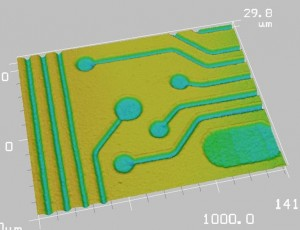 Direct patterning using ultrafast lasers