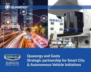 Quanergy and Geely Partner