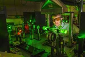 Sandia National Laboratories researcher Daniel Guildenbecher and colleagues have developed 3-D measurement techniques based on digital in-line holography to understand the generation and behavior of burning droplets of fuel from such incidents as transpor