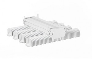 GEs Albeo ABHX-Series LED High Bay Lighting fixture provides bright, long-lasting light with cost-saving advantages to commercial settings with high ceilings