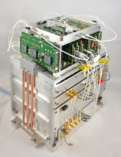 JOKARUS payload: Used to demonstrate the first optical frequency standard based on molecular iodine in space.