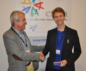Jakob Engel wins EMVA Young Professional Award