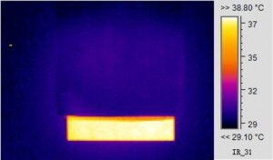 A hot object can be fully hidden from infrared detection by adding polyethylene glycol to an aerogel film Credit American Chemical Society