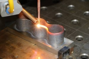 Laser deposition welding has proved to be an economical and reliable process, and is now well-established The innovative laser production systems from Laservorm can be used to repair damage to expensive components,eg a power station turbine blade, in a re