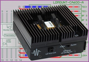 Wavelength Electronics LDMount for Pump and Communication Diode Lasers