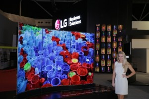 LG Electronics USA Business Solutions today announced digital signage displays based on revolutionary OLED technology