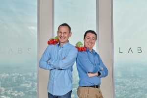 Niv Price, CEO at the left and Boaz Arad, CTO at the right