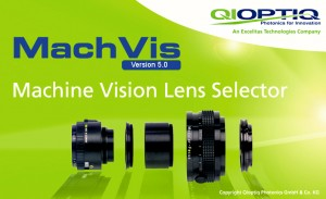 Qioptiq MachVis 50 Imaging Lens Software Available
