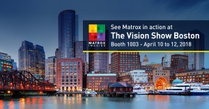 The Vision Show 2018 Products from Matrox Imaging