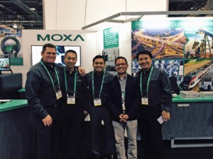Moxa at ISC West