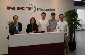 NKT Photonics opens new Application and Support Center in Shenzhen, China