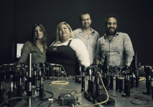 A multidisciplinary group of researchers has demonstrated that quantum light controlled can be used to make accurate measurements in real time without disrupting enzymatic activity Credit Simonetta Pieroni