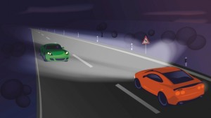 Thanks to thousands of individually controllable light points pixels, the new class of smart adaptive headlights can prevent glare for other road users while the other surroundings remain perfectly illuminated