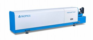 In the OptiCentric Linear made by TRIOPTICS, centration measurement is performed in a horizontal position and without rotation