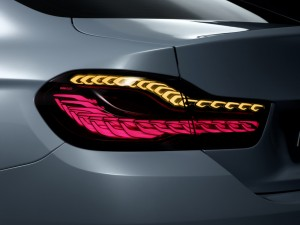 The tail lights for the BMW M4 Concept Iconic Lights feature OLEDs from Osram Picture BMW